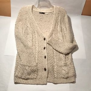 Urban Outfitters Cable Knit Long Sweater